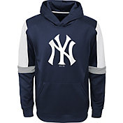 Gen2 Youth New York Yankees Navy Base Up Pullover Hoodie