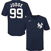 Nike Youth New York Yankees Aaron Judge #99 Navy 4-7 T-Shirt