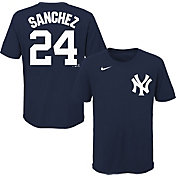 Nike Youth New York Yankees Gary Sanchez #24 Navy T-Shirt
