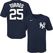 Nike Youth New York Yankees Gleyber Torres #25 Navy T-Shirt