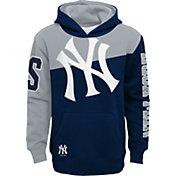 Outerstuff Youth New York Yankees Navy Slub Pullover Hoodie
