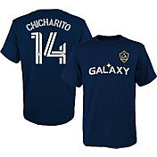 MLS Youth Los Angeles Galaxy Javier 'Chicharito' Hernandez #14 Navy Player T-Shirt