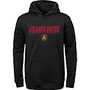 MLS Youth Atlanta United Static Red Performance Pullover Hoodie