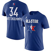Jordan Youth 2020 NBA All-Star Game Giannis Antetokounmpo Dri-FIT Blue T-Shirt