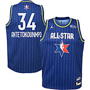 Jordan Youth 2020 NBA All-Star Game Giannis Antetokounmpo Blue Dri-FIT Swingman Jersey