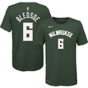 Nike Youth Milwaukee Bucks Eric Bledsoe #6 Green Dri-FIT Icon T-Shirt