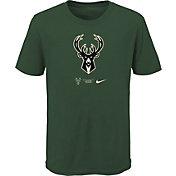 Nike Youth Milwaukee Bucks Green Logo T-Shirt