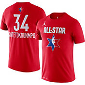 Jordan Youth 2020 NBA All-Star Game Giannis Antetokounmpo Dri-FIT Red T-Shirt
