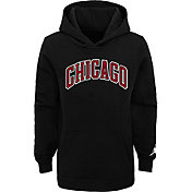 Jordan Youth Chicago Bulls Black Statement Pullover Hoodie