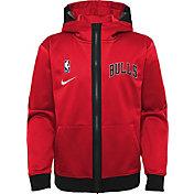 Nike Youth Chicago Bulls Red Spotlight Full-Zip Hoodie