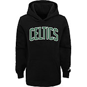 Jordan Youth Boston Celtics Black Statement Pullover Hoodie