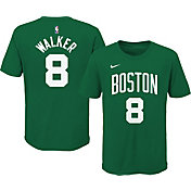 Nike Youth Boston Celtics Kemba Walker #8 Green Cotton T-Shirt