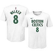 Nike Youth 2020-21 City Edition Boston Celtics Kemba Walker #8 Cotton T-Shirt