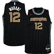 Nike Youth 2020-21 City Edition Memphis Grizzlies Ja Morant #12 Dri-FIT Swingman Jersey