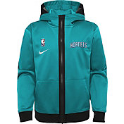 Nike Youth Charlotte Hornets Blue Spotlight Full-Zip Hoodie