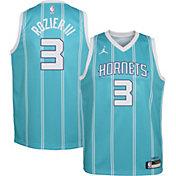 Jordan Youth Charlotte Hornets Terry Rozier III #3 Teal Dri-FIT Swingman Jersey