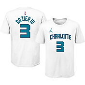 Jordan Youth Charlotte Hornets Terry Rozier III #3 Cotton White T-Shirt