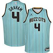 Jordan Youth 2020-21 City Edition Charlotte Hornets Devonte' Graham #4 Dri-FIT Swingman Jersey