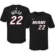 Nike Youth Miami Heat Jimmy Butler #22 Cotton Black T-Shirt