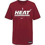 Nike Youth Miami Heat Red Practice Performance T-Shirt