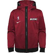 Nike Youth Miami Heat Red Spotlight Full-Zip Hoodie