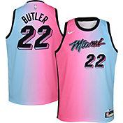 Nike Youth 2020-21 City Edition Miami Heat Jimmy Butler #22 Dri-FIT Swingman Jersey