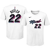 Nike Youth 2020-21 City Edition Miami Heat Jimmy Butler #22 Cotton T-Shirt