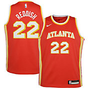 Nike Youth Atlanta Hawks Cam Reddish #22 Red Dri-FIT Swingman Jersey