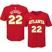 Nike Youth Atlanta Hawks Cam Reddish #22 Red Cotton T-Shirt