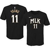 Nike Youth 2020-21 City Edition Atlanta Hawks Trae Young #11 Cotton T-Shirt