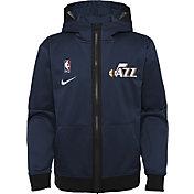 Nike Youth Utah Jazz Blue Spotlight Full-Zip Hoodie