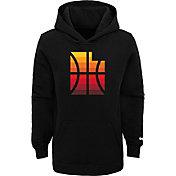Nike Youth 2020-21 City Edition Utah Jazz Logo Pullover Hoodie