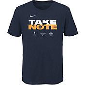 Nike Youth Utah Jazz Navy 2020 Playoffs Bound 'Take Note' Mantra T-Shirt