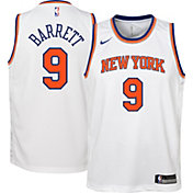 Nike Youth New York Knicks RJ Barrett #9 Dri-FIT Swingman White Jersey