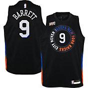 Nike Youth 2020-21 City Edition New York Knicks RJ Barrett #9 Dri-FIT Swingman Jersey