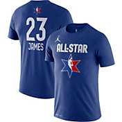 Jordan Youth 2020 NBA All-Star Game LeBron James Dri-FIT Blue T-Shirt
