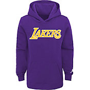 Jordan Youth Los Angeles Lakers Purple Statement Pullover Hoodie