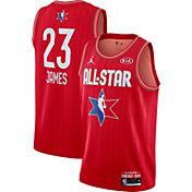 Jordan Youth 2020 NBA All-Star Game LeBron James Red Dri-FIT Swingman Jersey