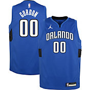 Jordan Youth Orlando Magic Aaron Gordon #00 Blue 2020-21 Dri-FIT Statement Swingman Jersey