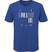 Nike Youth Dallas Mavericks Blue 2020 Playoffs Bound 'All In' Mantra T-Shirt