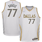Nike Youth 2020-21 City Edition Dallas Mavericks Luka Doncic #77 Dri-FIT Swingman Jersey