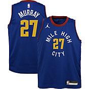 Jordan Youth Denver Nuggets Jamal Murray #27 Blue 2020-21 Dri-FIT Statement Swingman Jersey