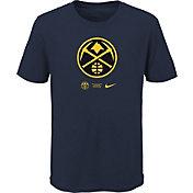 Nike Youth Denver Nuggets Blue Logo T-Shirt