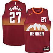 Nike Youth 2020-21 City Edition Denver Nuggets Jamal Murray #27 Dri-FIT Swingman Jersey