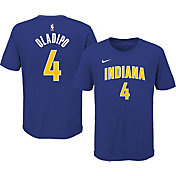 Nike Youth 2020-21 City Edition Indiana Pacers Victor Oladipo #4 Cotton T-Shirt