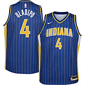 Nike Youth 2020-21 City Edition Indiana Pacers Victor Oladipo #4 Dri-FIT Swingman Jersey