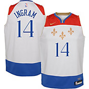 Nike Youth 2020-21 City Edition New Orleans Pelicans Brandon Ingram #14 Dri-FIT Swingman Jersey