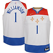 Nike Youth 2020-21 City Edition New Orleans Pelicans Zion Williamson #1 Dri-FIT Swingman Jersey