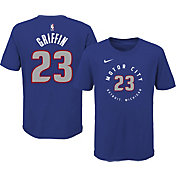 Nike Youth 2020-21 City Edition Detroit Pistons Blake Griffin #23 Cotton T-Shirt