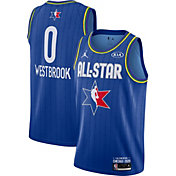 Jordan Youth 2020 NBA All-Star Game Russell Westbrook Blue Dri-FIT Swingman Jersey